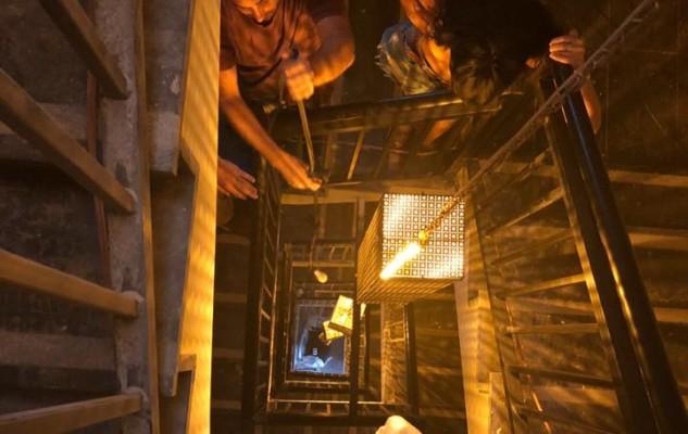 גופי תאורה מדרגות