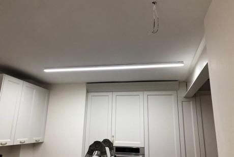פרופיל לד מטבח